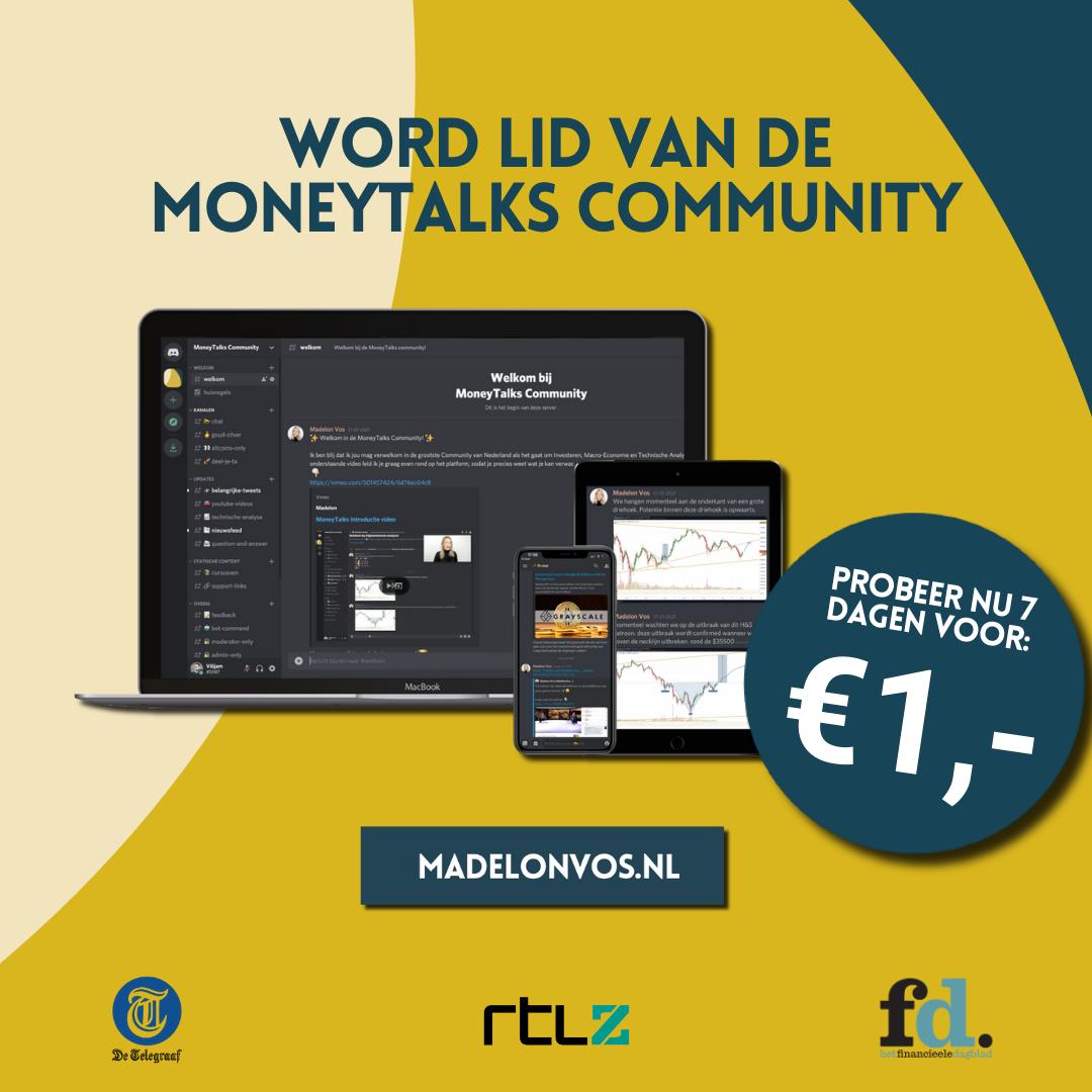 MoneyTalks Vierkant Banner (1080x1080)