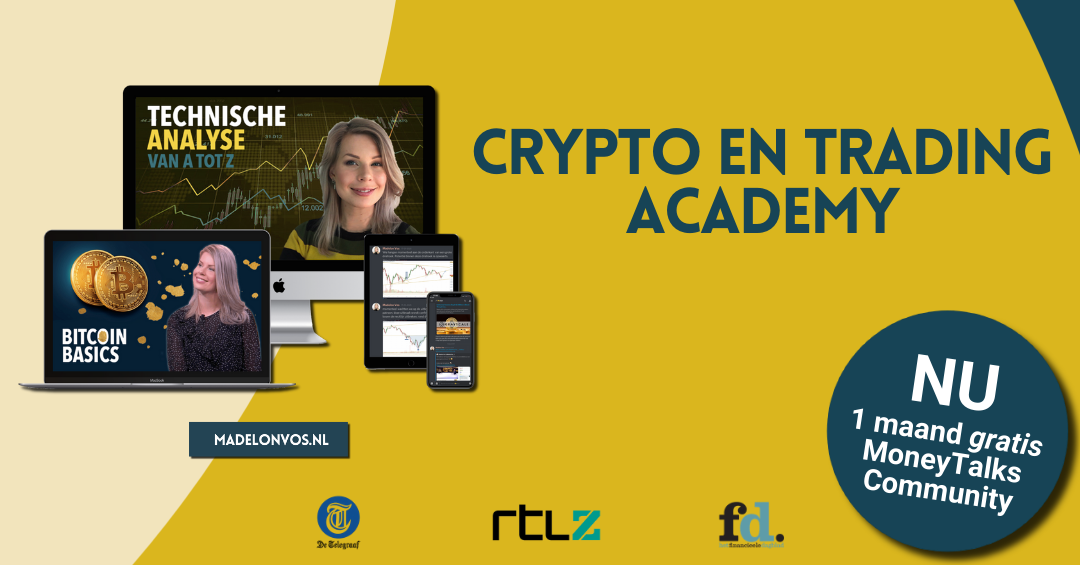 Madelon Vos Crypto en Trading Academy